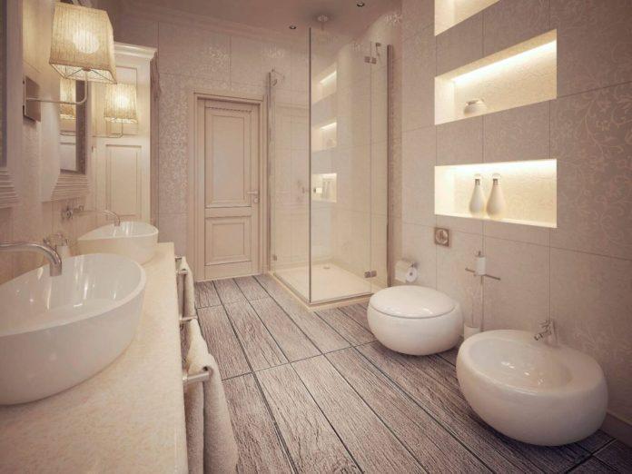 Cabina de duș cu pereți sau paravan de duș